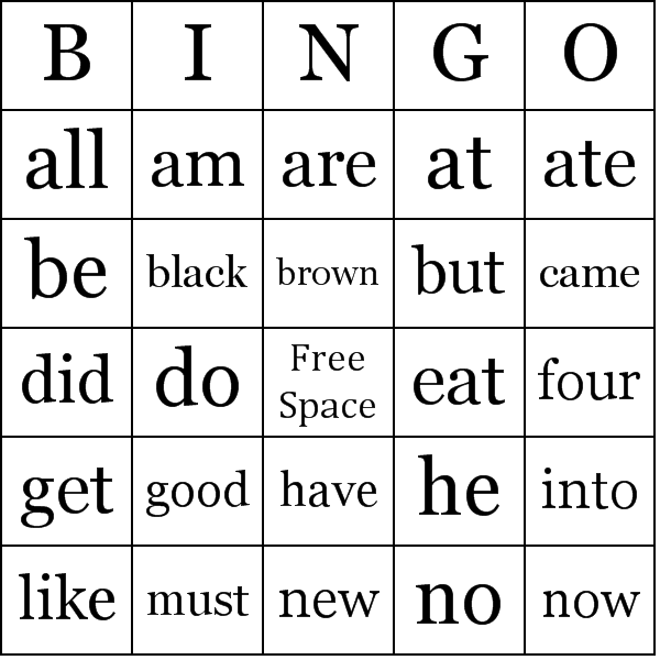 frequency of with  word words kindergarten are of common words sight high  cards use for group sight a printable a