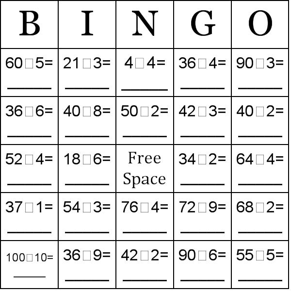 card maker ; you may create your own custom bingo cards with a free ...