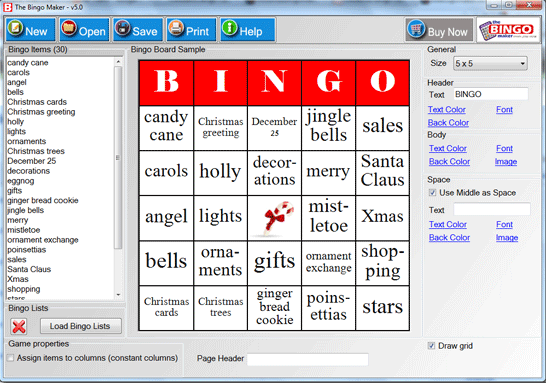 The Bingo Maker Screenshot